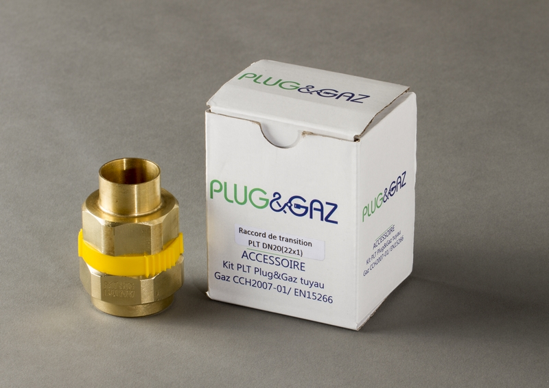 raccord transition plt gaz